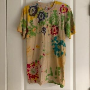 American Apparel tie-dye t-shirt